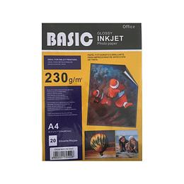 Papel Fotográfico Basic 230 Gramos