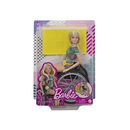 Barbie Fashionistas Silla De Ruedas