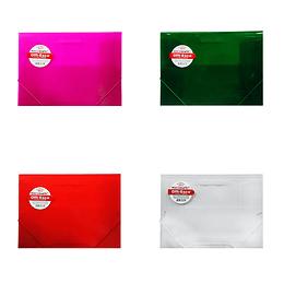 Carpeta De Seguridad Oficio Colores Translucidos