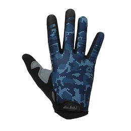 Guantes GW Largos Camuflado Full Azul