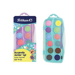 Acuarela Junior Colores Pastel