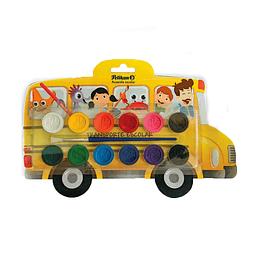 Acuarela Bus Escolar