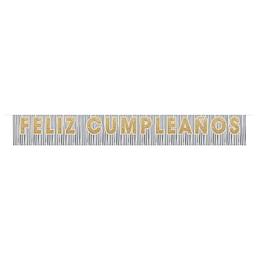 Cartel Flecos Feliz Cumpleaños 1.82 M X 1 Unidad