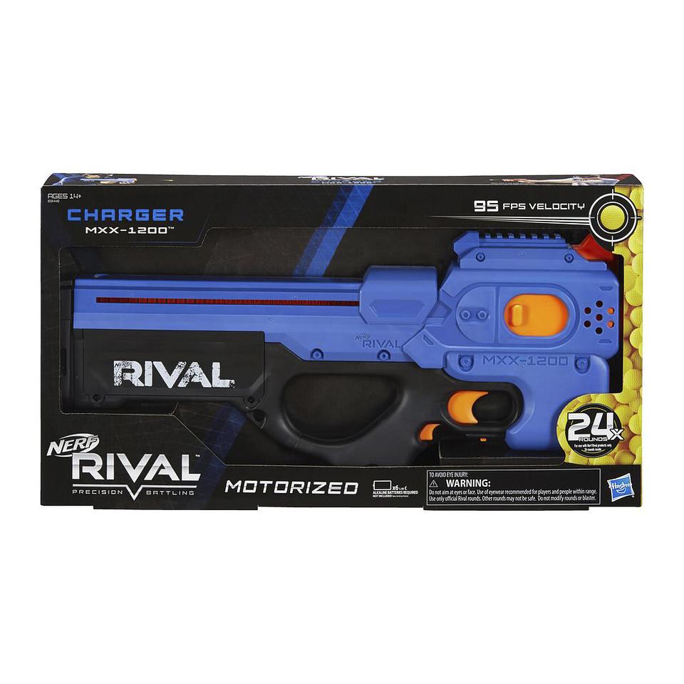 Nerf Rivel Charger Mxx 1200 Blue Hasbro