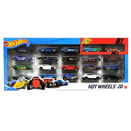 Hot Wheels Autos Básicos Paquete X 20
