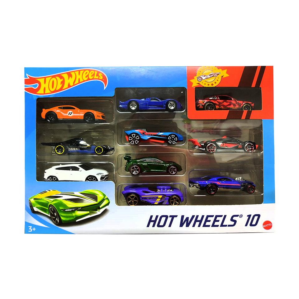 Hot Wheels Autos Básicos Paquete X 10