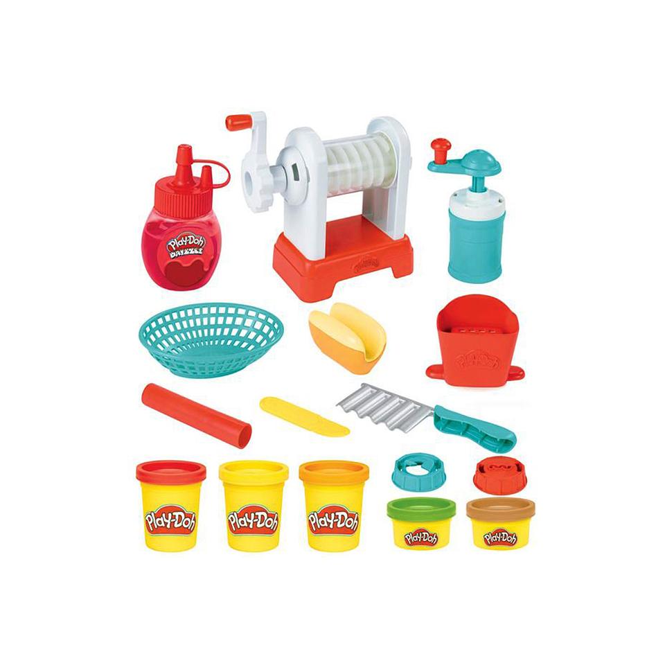 Play Doh Kitchen Maquina De Espirales Fritas