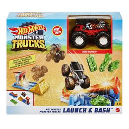 Hot Wheels Monster Lanza Y Aplasta