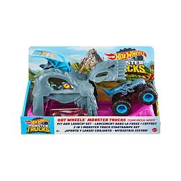 Hot Wheels Monster Trucks Pista Mega WRex