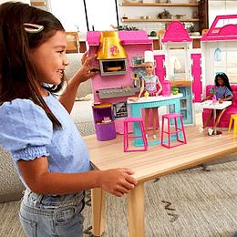 Muñeca Barbie Restaurante Mattel
