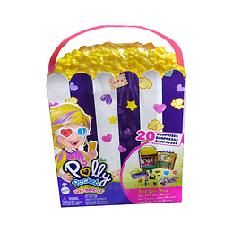 Polly Pocket Set Caja de Palomitas Sorpresa