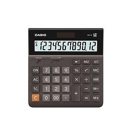 Calculadora Casio Para Oficina DH-12-BK
