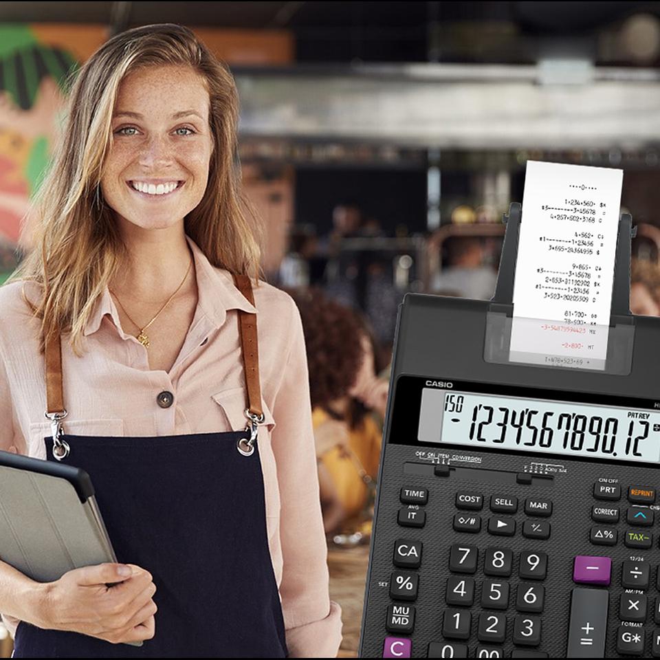Calculadora Casio Para Oficina HR-150RC