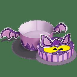 Caja Regalo Ctn Halloween Figura Murciélago
