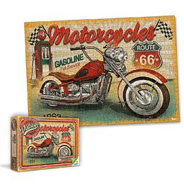 Rompecabezas x 1000 Piezas Retro Vintage Moto