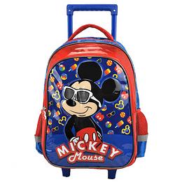 """Morral con Ruedas Mickey Mouse 16.5 """" P. bags 4"""
