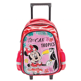 "Morral con Ruedas Minnie Mouse 16.5 "" P. bags"