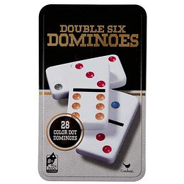 Domino 6 colores Lata