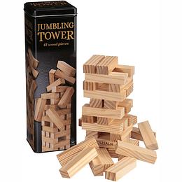 Torre Equilibrio Lata Madera