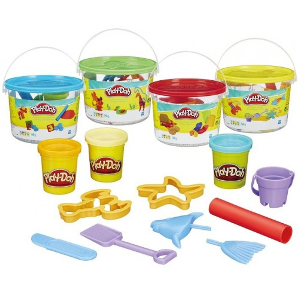 Mini Cubeta Surtida Play Doh