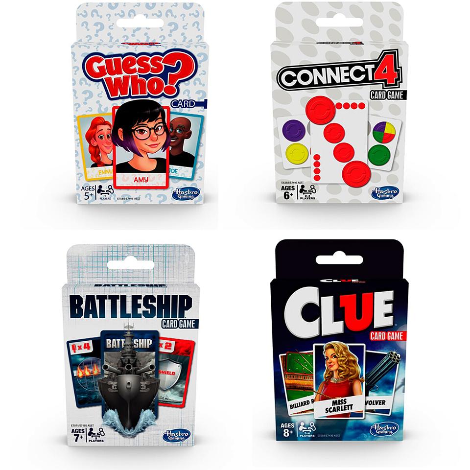 Juegos Clásicos en cartas Clue