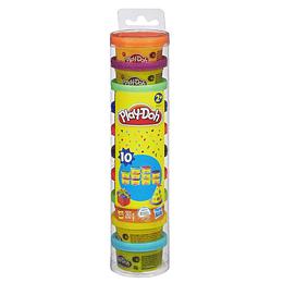 Play Doh Mini Empaque x 10 Fiesta en tubo