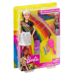 Barbie Peinados de Arcoiris