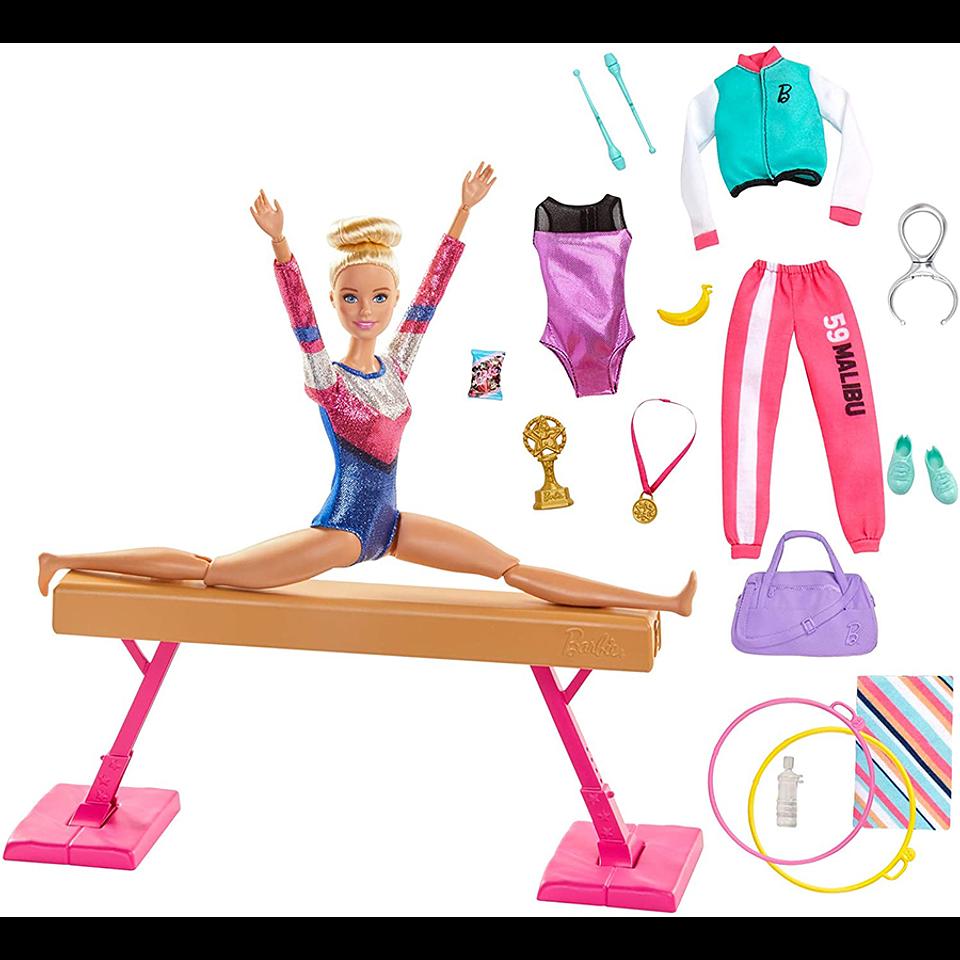 Barbie Set de Gimnasia