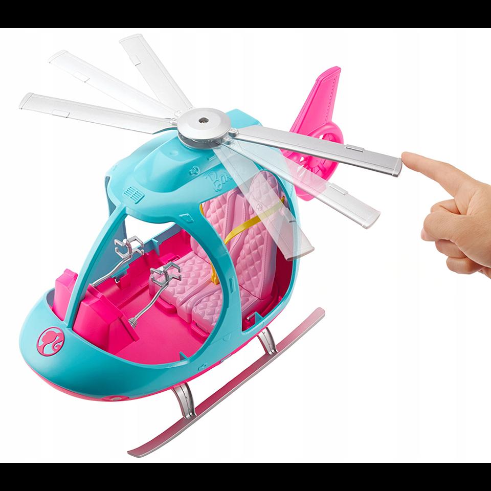 Barbie Explora y Descubre Helicóptero de Barbie