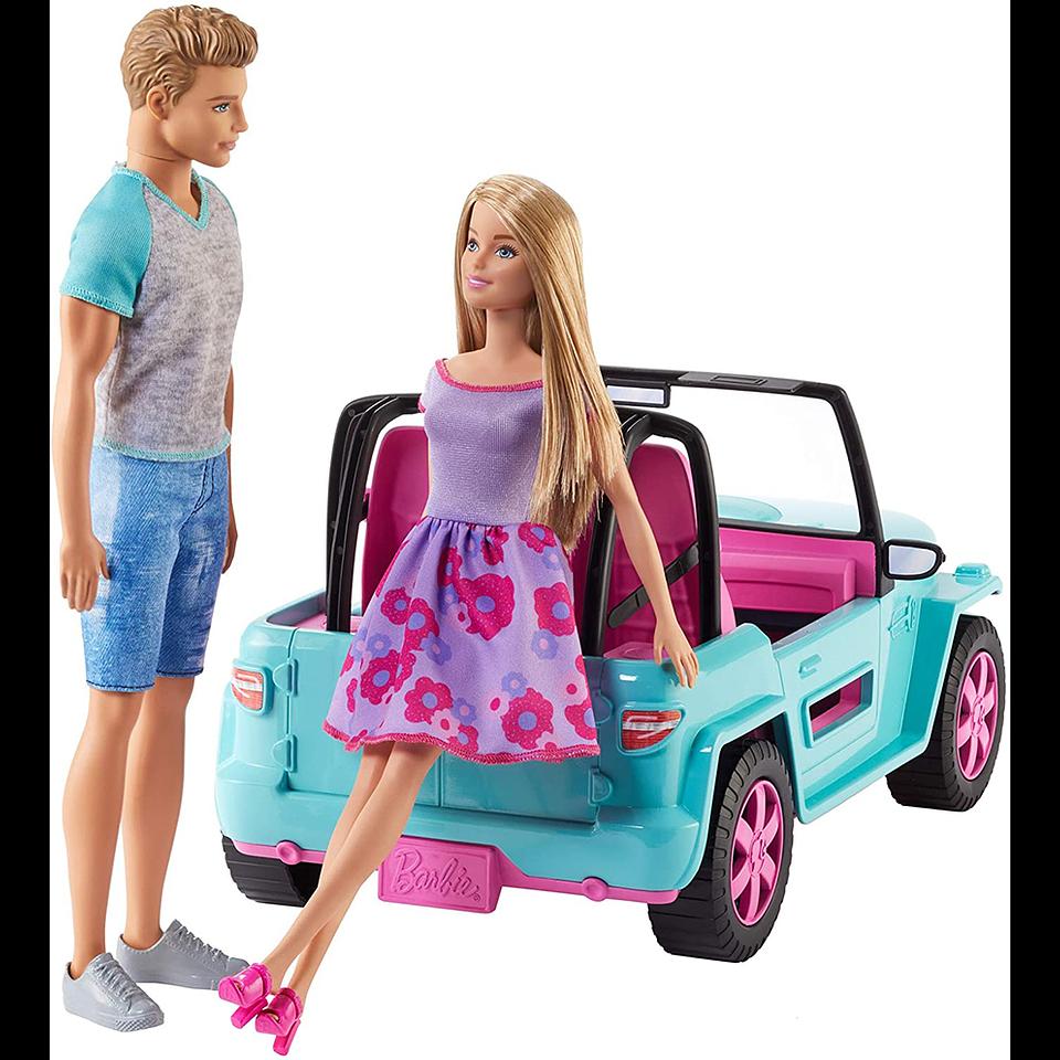 Barbie Auto de Playa