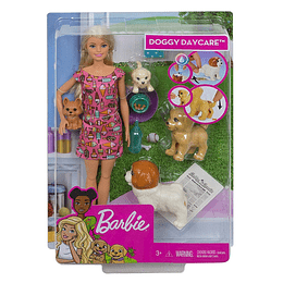 Barbie Guarderia de Perritos