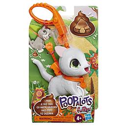FurReal Poopalots Bebe - Gato Gris
