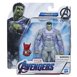 "Avengers Figura Deluxe De Pelicula 6"" Hulk"