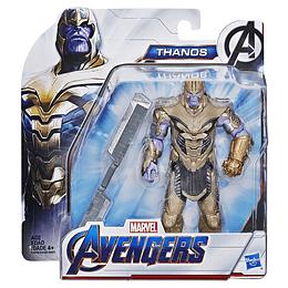 """Avengers Endgame Figura Deluxe De Película 6"""" Thanos"""