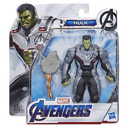 """Avengers Endgame Figura Deluxe De Película 6"""" Hulk"""