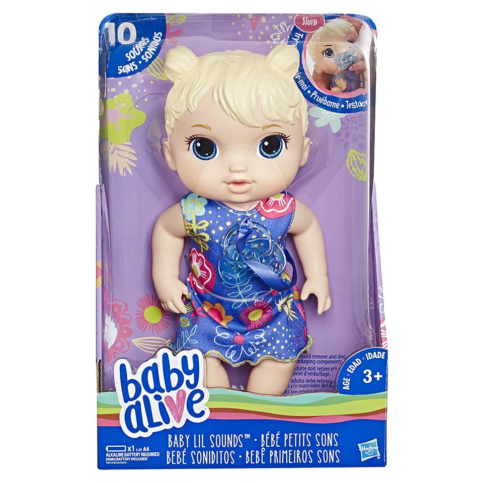 Baby Alive Bebé Soniditos