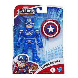 """Marvel Figura Con Accesorio 5"""" Capitán América"""