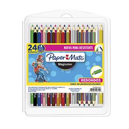 Magicolor Color Unipunta X 24 + 4 Doble Punta