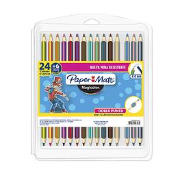 Magicolor Color Doble Punta 24 + 6  (15/30)