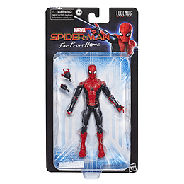 "Marvel Legends 6"" Blister Spider Man Rojo"