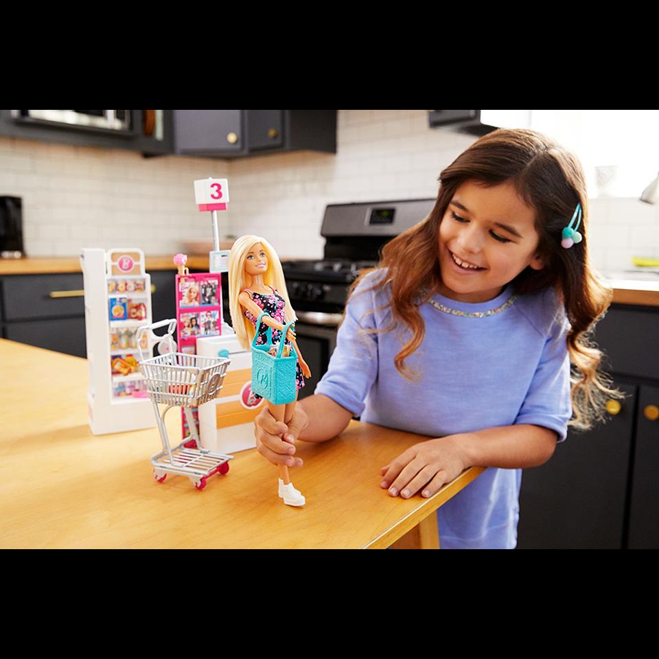 Barbie Supermercado De Barbie