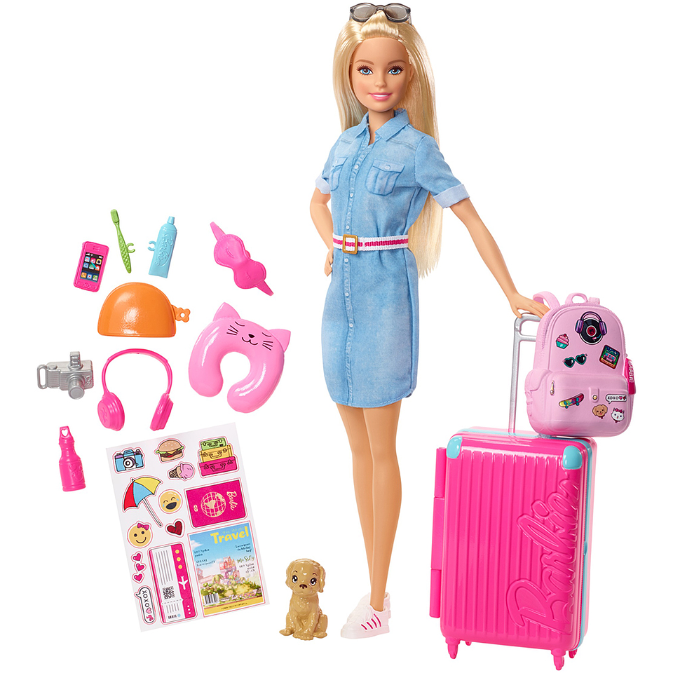 Barbie Explora Y Descubre Barbie Viajera