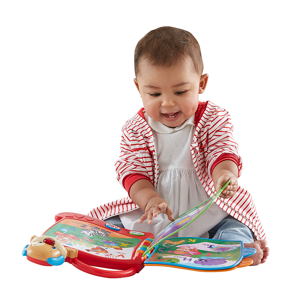 Fisher Price Libro De Perrito
