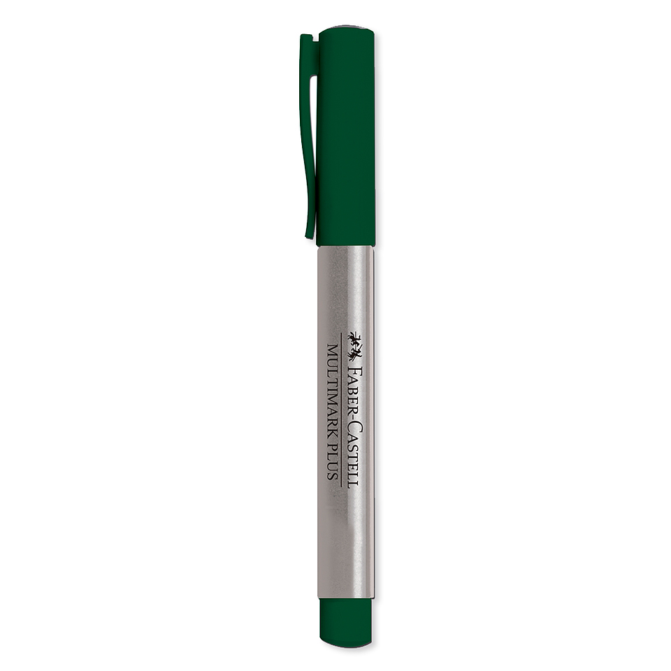 Marcador Multimark Plus Verde