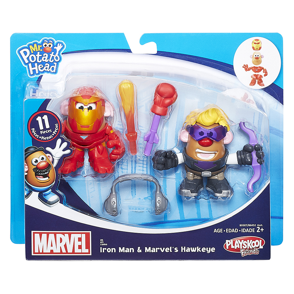 Señor Cara De Papa Pack Iron Man & Marvel´s Hawkeye