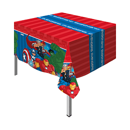 Mantel Rectangular De Advengers X 1 Unidad