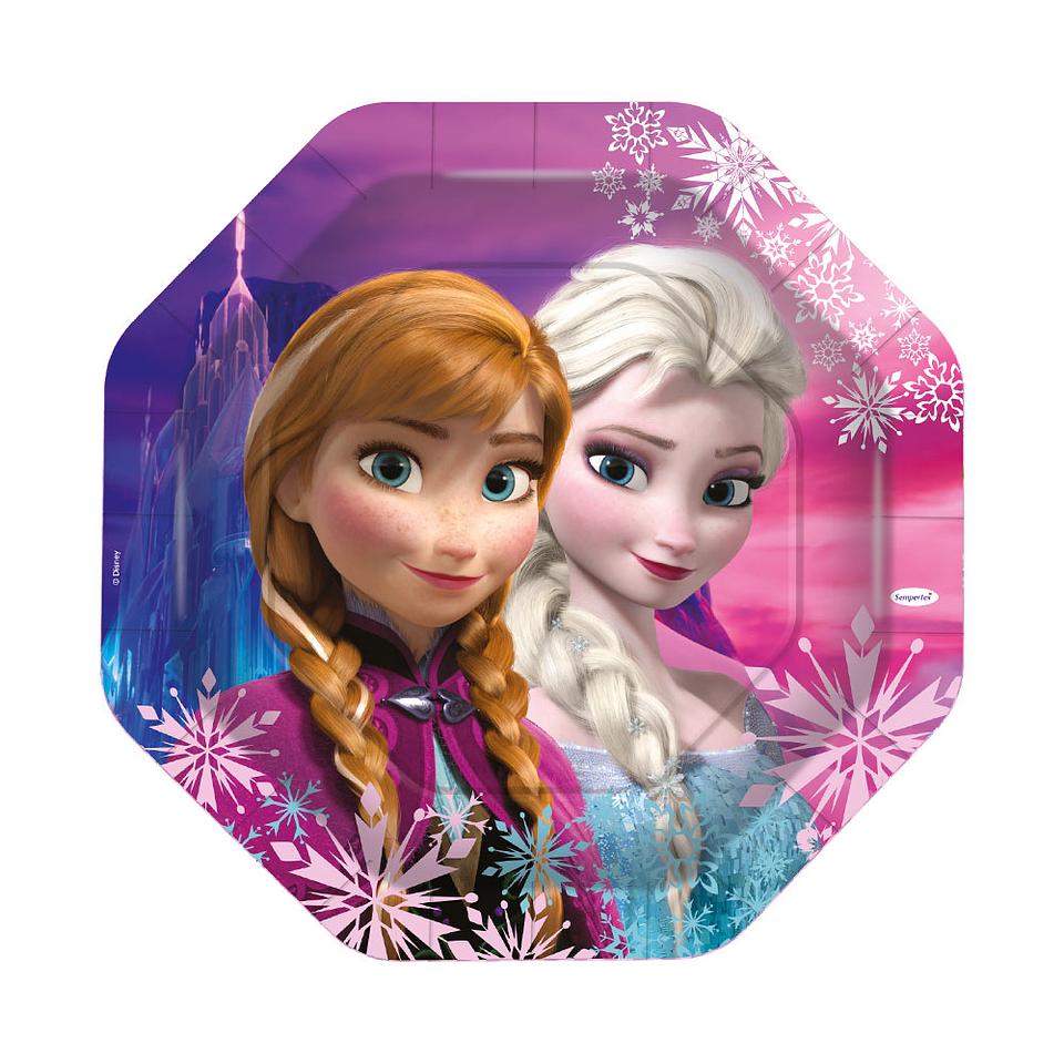 Bandeja Octagonal Frozen 10