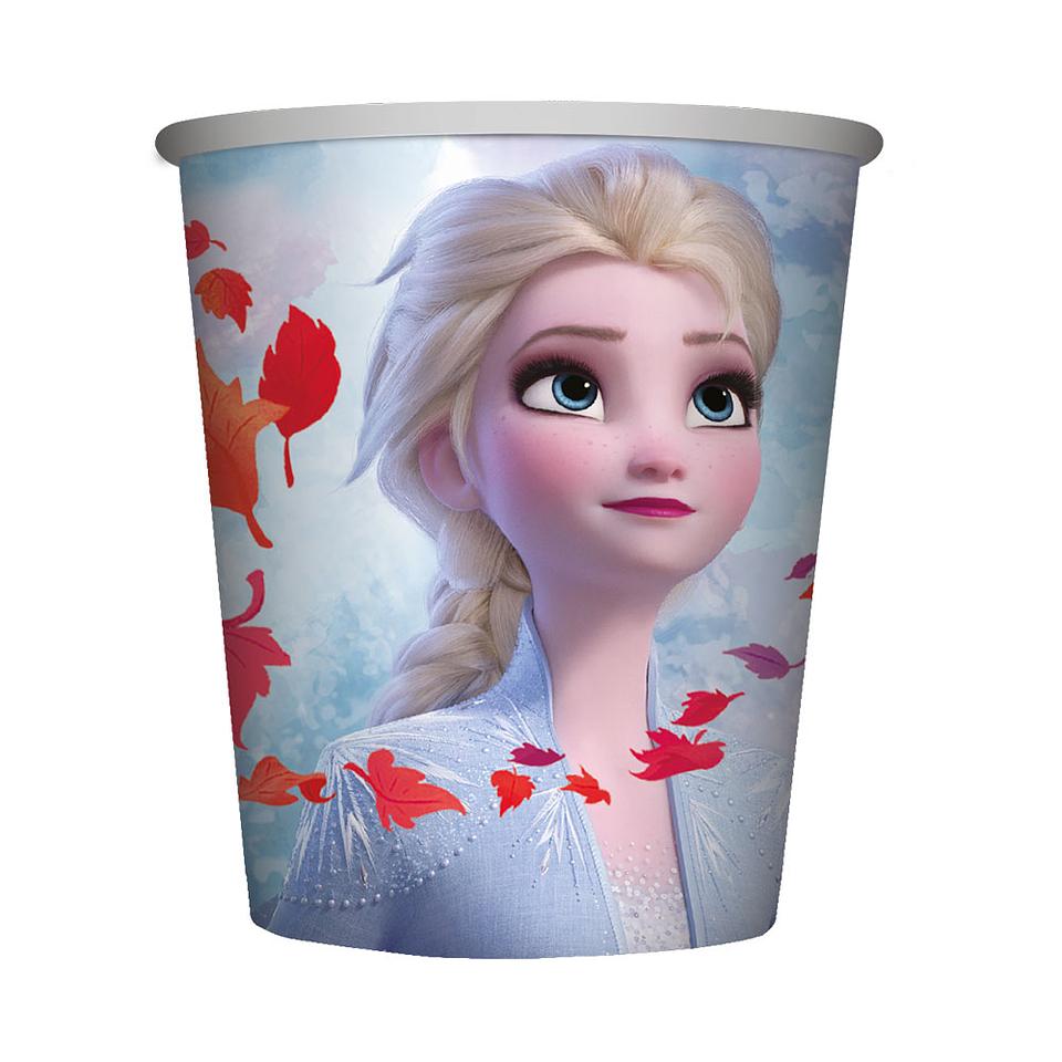Vaso Metalizado De Frozen Ii X 9 0Nz X 8 Unidades