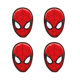Mascara Impresa Spiderman X 4 unidades