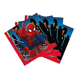 Servilleta Pequeña De Spiderman X 16 Unidades